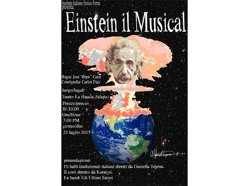 2015 - Einstein - il Musical